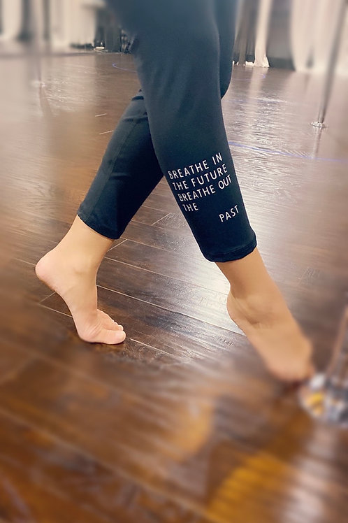 """Breathe In Breathe Out"" Leggings"