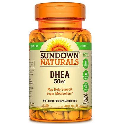 DHEA 50MG (60 TABLETES) SUNDOWN NATURALS