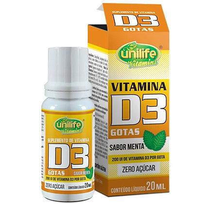 VITAMINA D3 (GOTAS) 20ML - UNILIFE