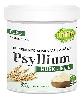 PSYLLIUM EM PÓ (220G) UNILIFE