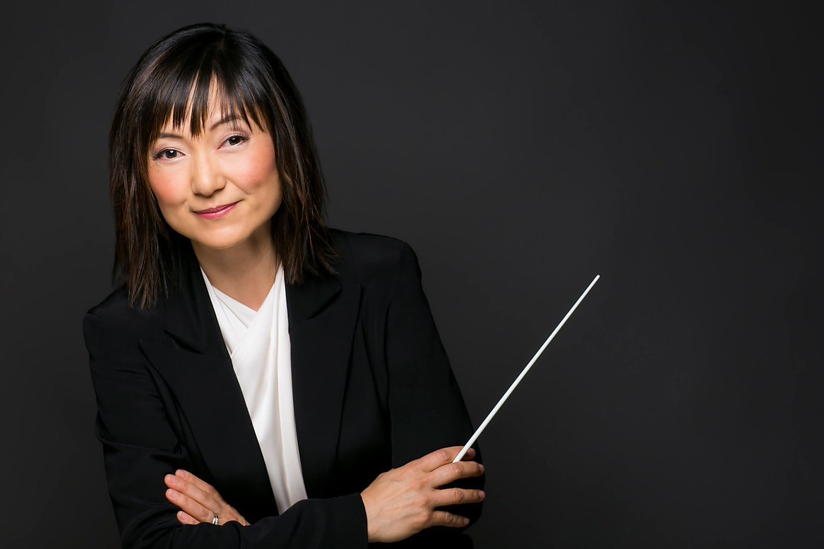 Rei Hotoda, Conductor, Fresno Philharmonic, Woman Conductor, Female Conductor, Classical Music