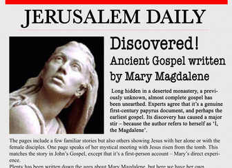 What Mary Magdalene Knew – Part Two