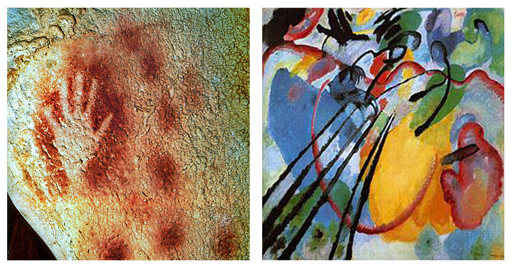 Helen Martineau's Blog - Image of Cave Art and Modern Art