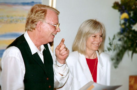 Helen Martineau and Mario Schoenmaker