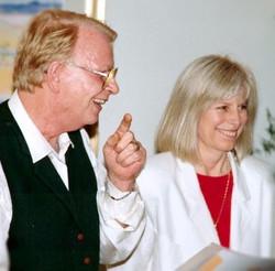 Mario Schoenmaker and Helen Martineau