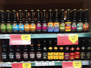 Craft Beers at Amber Service Station Fermoy