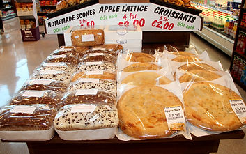 Fresh Breads, Cakes and Tarts at Amber Service Station Fermoy Co. Cork
