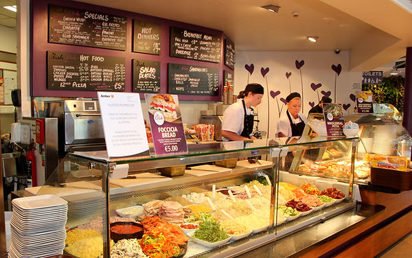 Fresh Food Deli, Full Irish Breakfast, Pizza, Fast Food, Beef burgers and chicken