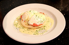 Eggs Benedict and Breakfast at Amber Service Station Fermoy