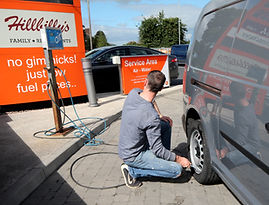 Car services at Amber Service Station Fermoy Co. Cork