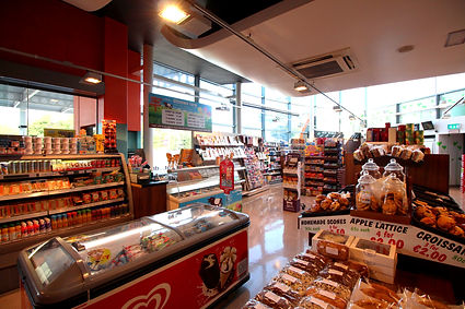 Costcutter Shopping area at Amber Service Station Fermoy Co. Cork