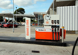 Pay at the pump fuelling station at Amber Fermoy