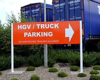 HGV and Truck Parking at Amber Service Station Fermoy Co. Cork