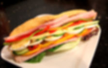 Sandwiches, Rolls, Panini and salads at Amber Service Station Deli Fermoy Co. Cork