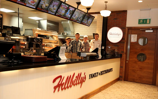 Hillbilly's Family Restaurant at Amber Service Station Fermoy Co. Cork