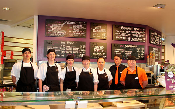 Staff at Fresh Food Deli Fermoy Co. Cork