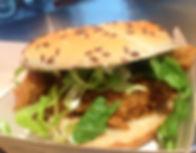 Original Recipe Chicken Burger at Hillbilly's Family Restaurant Fermoy