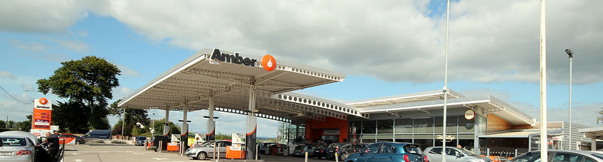 Amber Service Station Fermoy just off the M8 at Junction 14