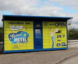 Parcel Motel at Amber Service Station Fermoy Co. Cork