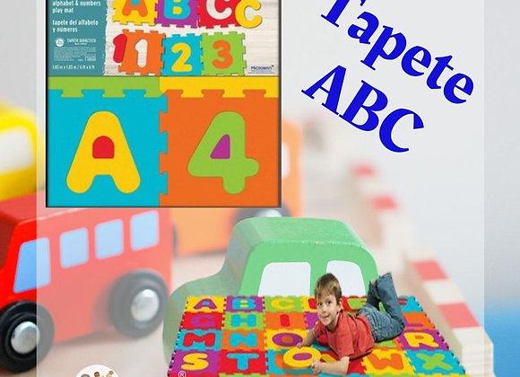 Tapete de Alfabeto y Números