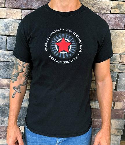 Bearded Soldier Star Logo T-Shirt