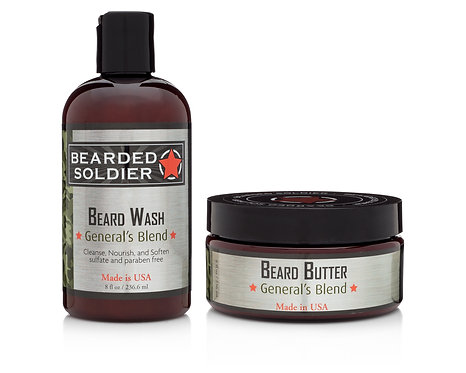 Beard Butter 8 oz. with FREE Beard Wash 4 oz.