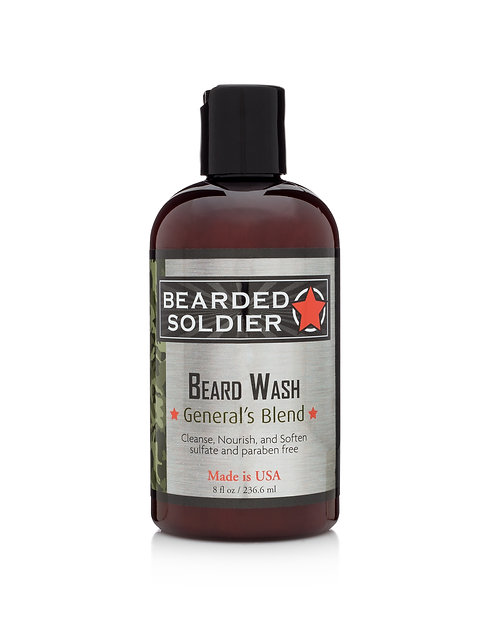 GENERAL'S BLEND BEARD WASH