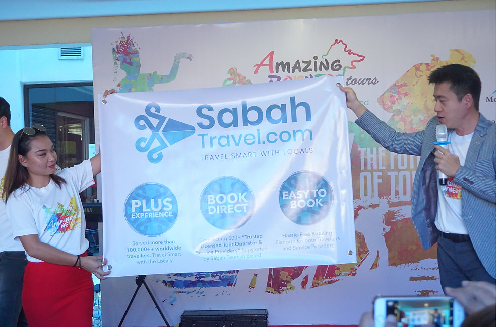SabahTravel.com aims to have a easy instant booking and more exciting features.