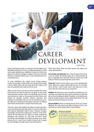 [TE3] TE Knowledge: Career Development