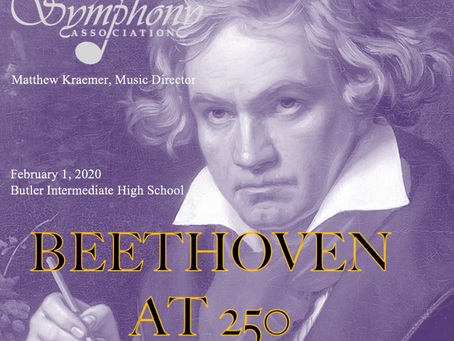 "CD Available of Feb. 2020 Performance ""Beethoven at 250."""