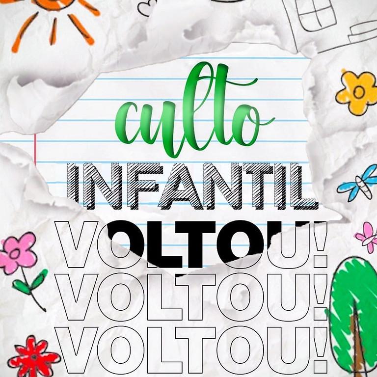 Culto Infantil Presencial (Noite) 16mai2021