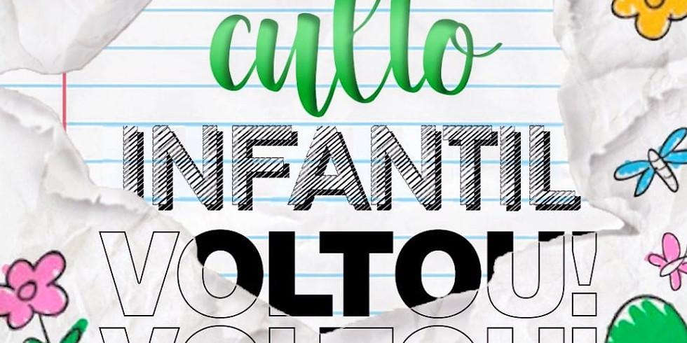 Culto Infantil Presencial (Noite) 09mai2021