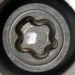 Renault Clio Locking Wheel Nut Key