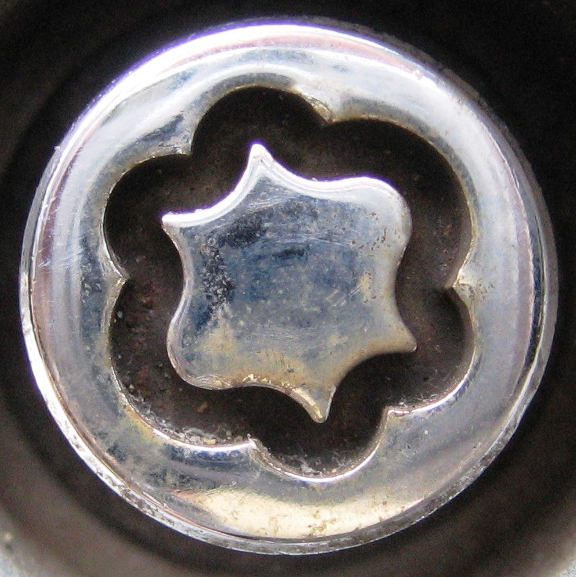 Ford early style security wheel nuts