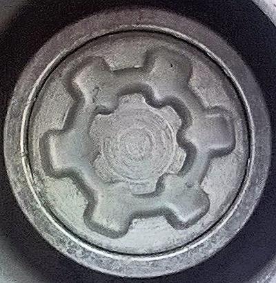 Skoda Wheel Locks Key