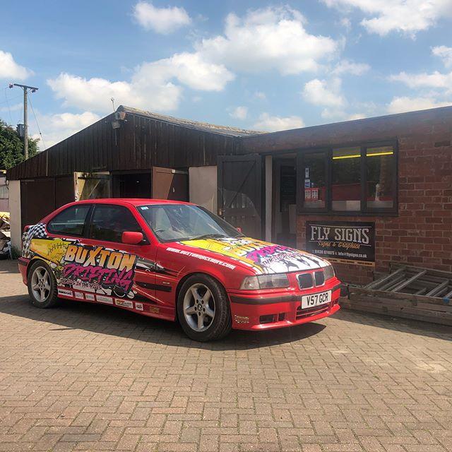 Buxton Driftings Drift Car ready for som