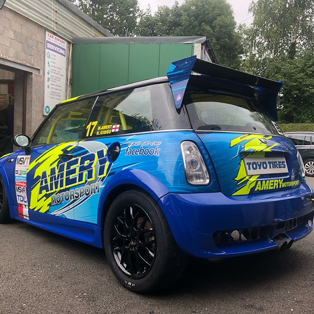 Amery Motorsport Mini Cooper S done toda