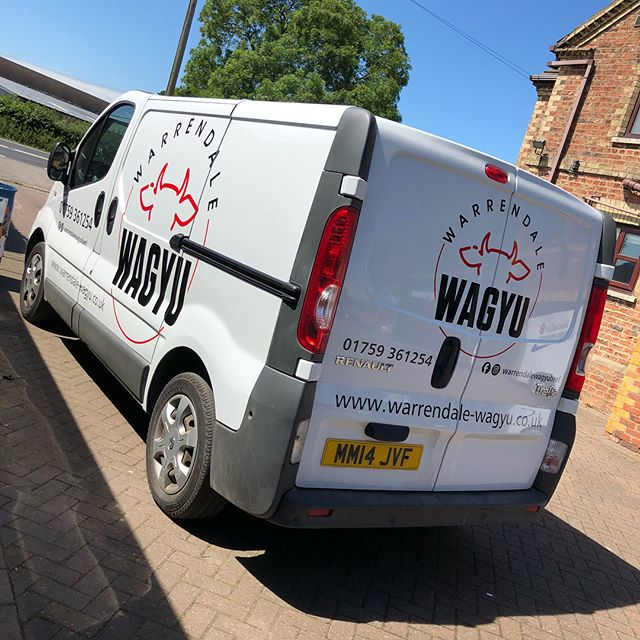 Couple of vans done for _warrendalewagyu