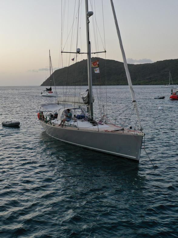 Fondeado en Martinica