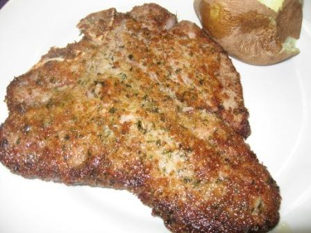 Crusted T-Bone
