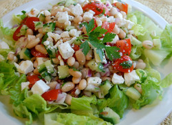 Salad with Beans and Feta