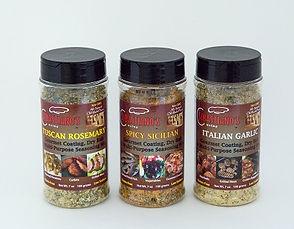 gluten free, low sodium coatings and seasonings