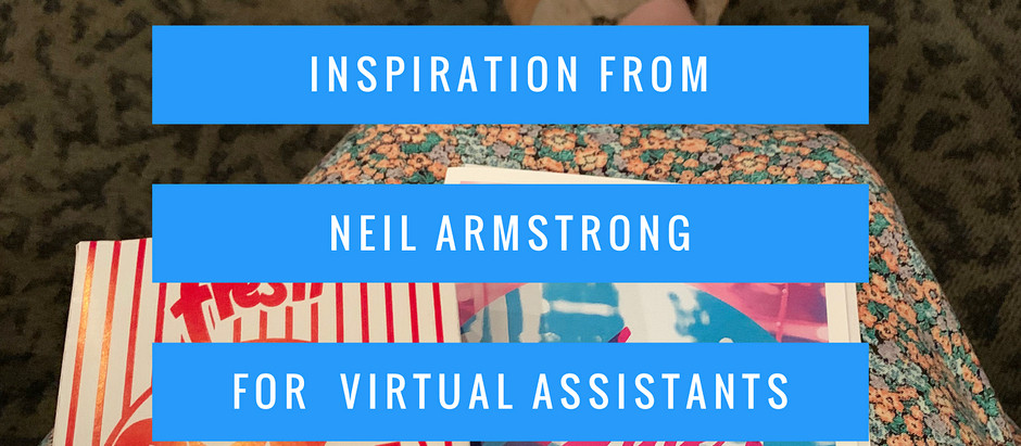 Inspiration for Virtual Assistants from Neil Armstrong