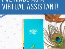 The Top 3 Learning Investments I've Made as a Virtual Assistant!
