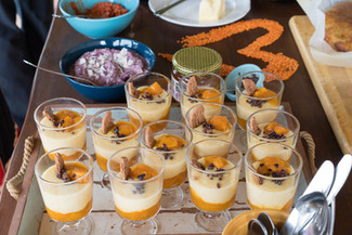 Polenta porridge