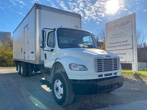 2014 Freightliner M2 26ft Tandem Straight Truck w/ Tailgate+Ramp Combo