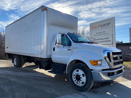 2015 Ford F650 24ft Straight Truck