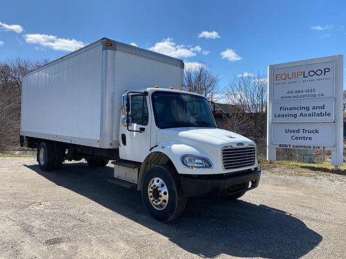 2015 Freightliner M2 24ft Straight Truck with Tailgate