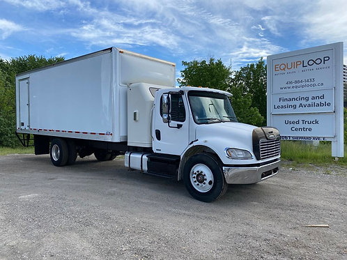 2011 Freightliner M2 24ft Straight Truck with Sleeper