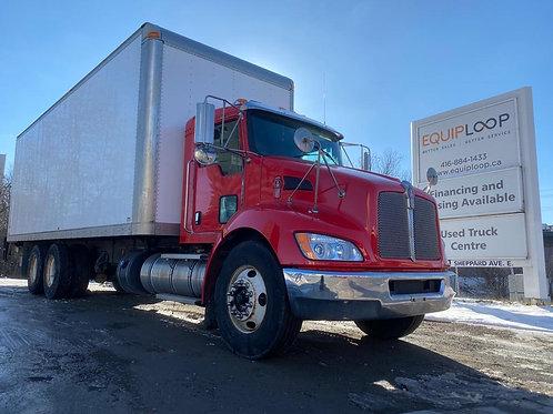 2014 Kenworth T370 26ft  TANDEM Straight Truck
